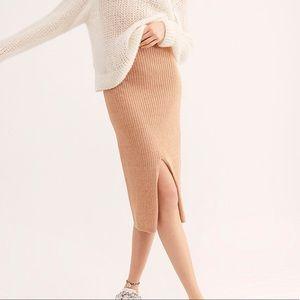 Free People Skirts - Free People Skyline Midi Skirt